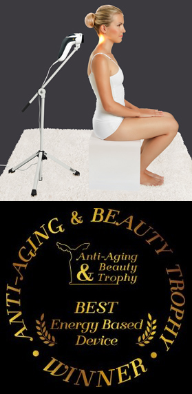 "Treatment with ""Bioptron"" Unit System the winner of the Anti-Aging Beauty Trophy as the Best Energy-based Device in the contest"